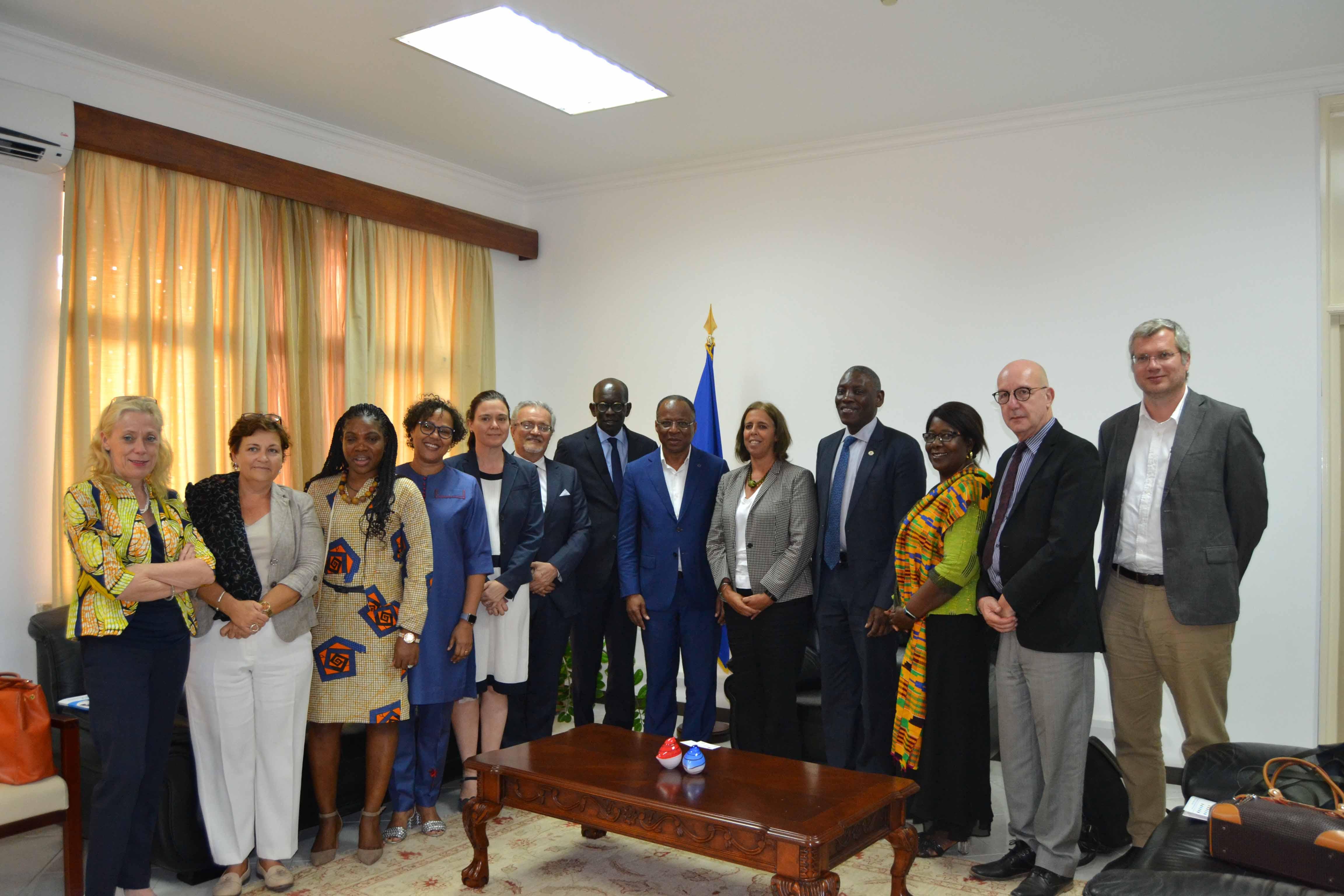 Delegação de alto nível das Nações Unidas visita Cabo Verde