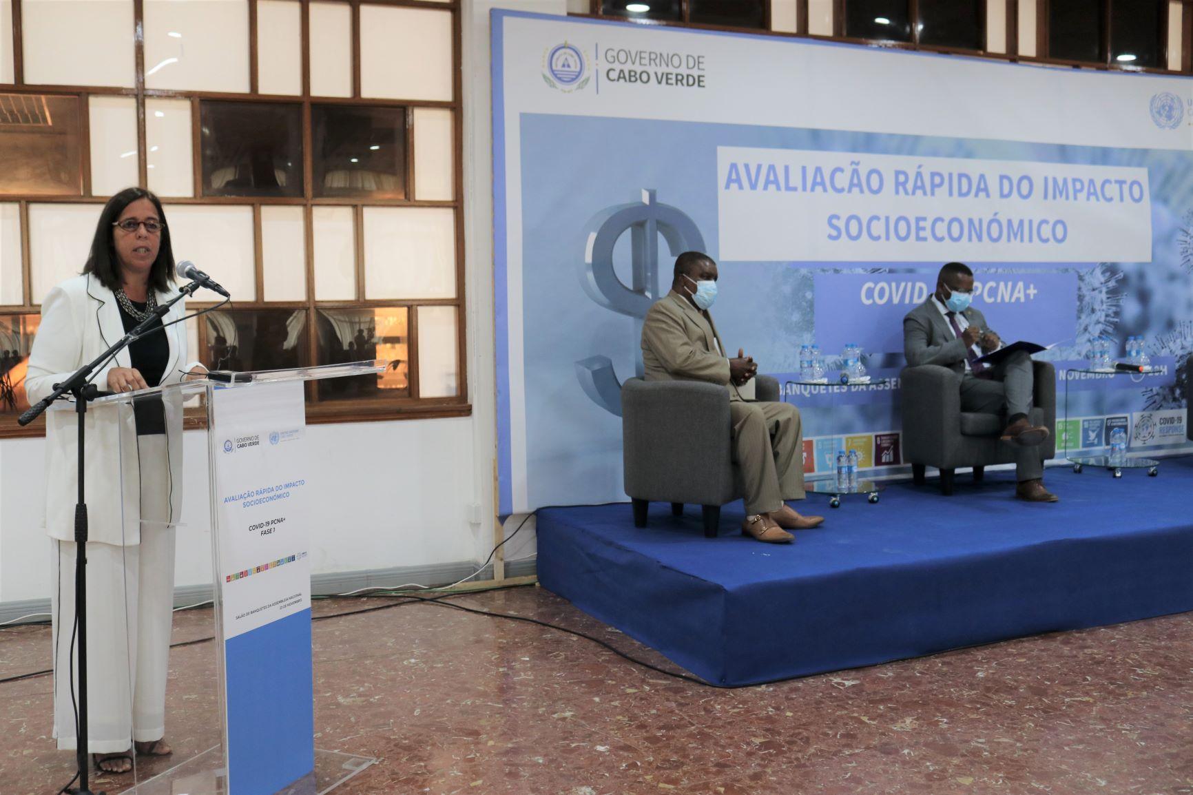 COVID-19 Cabo Verde apresenta  a Avaliação Rápida de Impacto de Crescimento Economico e o Plano Nacional de Resposta, Recuperação e Promoção da Economia